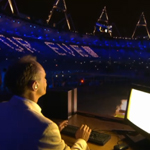 Tim Berners-Lee at the Olypics 2012